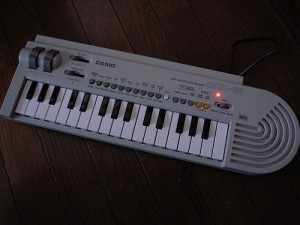 Casio keyboard