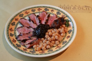 Duck Breast w/Fruit Compote (Locanda Vini & Olli)